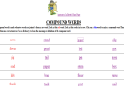 Compound words | Recurso educativo 41611