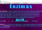 Enzimas | Recurso educativo 49002