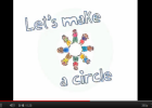 Song: Let's make a circle | Recurso educativo 50067