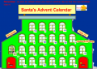 Santa's advent calendar | Recurso educativo 59442
