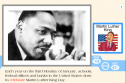 Martin Luther King day | Recurso educativo 65587