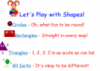 Let's play with shapes | Recurso educativo 77710