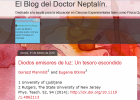 El Blog del Doctor Neptalín. | Recurso educativo 94701