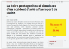 Simulacre d'accident d'un avió | Recurso educativo 768372